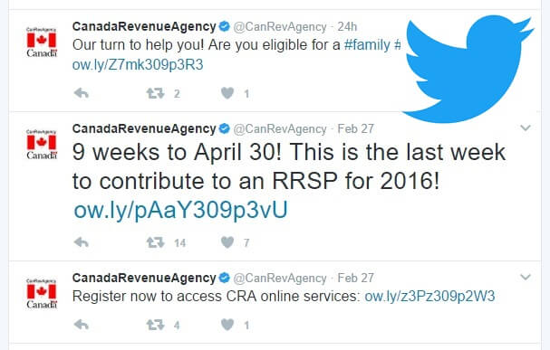 CRA Tweet Confusing About RRSP and Tax Return Deadlines?