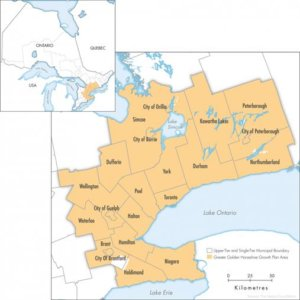 The new 15% non-resident speculation tax will apply in: Brant, Dufferin, Durham, Haldimand, Halton, Hamilton, Kawartha Lakes, Niagara, Northumberland, Peel, Peterborough, Simcoe, Toronto, Waterloo, Wellington and York.