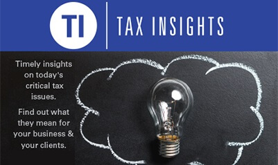 What Do Tax Changes Mean? Find out at Tax Insights 2017